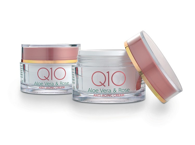 Q10 Aloe&Rose anti-age krém 50 ml