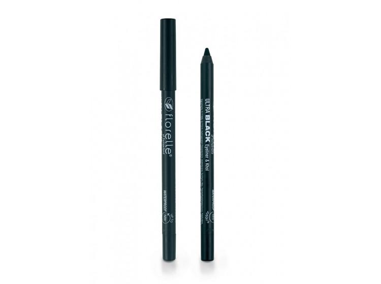 Čierna, vodeodolná ceruzka na oči