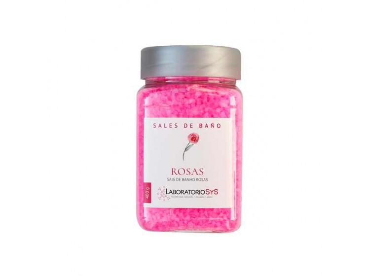 Ružová kúpeľová sol 400g