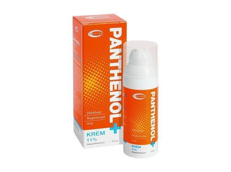 Panthenol krém 11% 50 ml